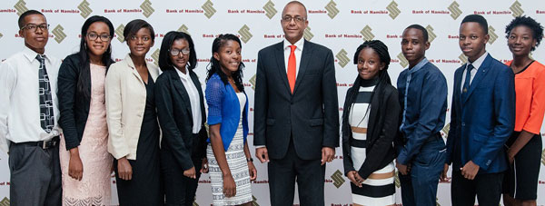 Bank of Namibia awards first bursaries for post-graduate studies