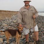 Cardboardbox Chad walks from the Hoanib to the Kunene for giraffe conservation