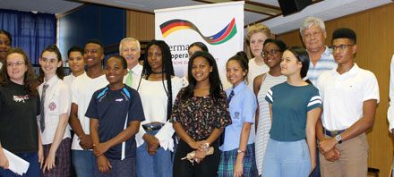 Young Namibians return from their German exchange student experience