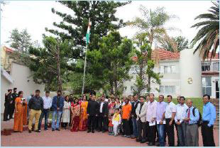 India's 68 years as an independent republic also celebrated in Windhoek