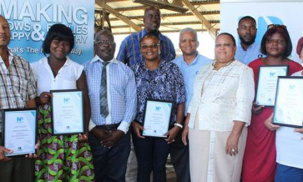 Namibia Dairies Development Programme rewards farmers