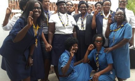 Girl Guides from the North celebrate 50 years in Ongwediva