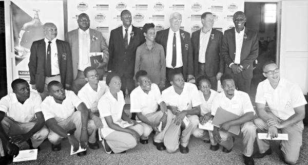 Namsov partners with vocational centre to up-skill youth