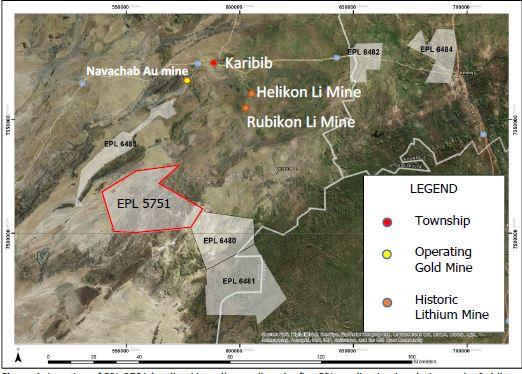 Australian miner enters JV for Karibib lithium project