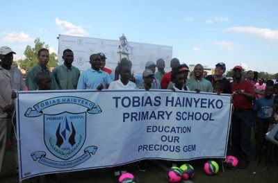 Football extravaganza attracts young talent