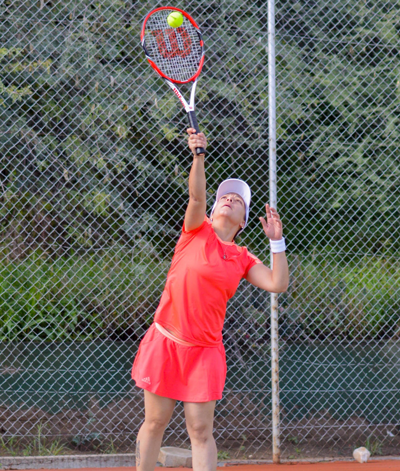Kavarure aces her way to victory in PTA Tennis Series