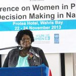 Namibia in top rankings for number of women in parliament