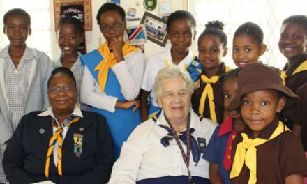 Being a Girl Guide is in their veins