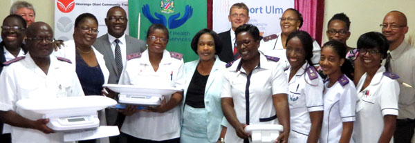 More equipment for improved patient care at Katutura Health Centre
