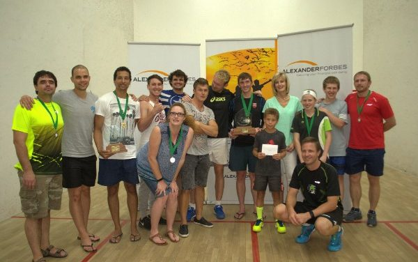 Squash tournie sees epic battles between top national players