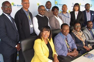 Air Namibia flies a knot faster with performance agreements for exco team