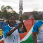 Queen's Baton hits the shores of Namibia
