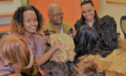 Private collector generously donates wigs for cancer patients