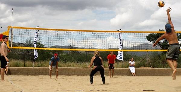Beach volleyball tournament crowns grand slam champions