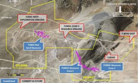 First results come up positive for Langer Heinrich type uranium mineralisation