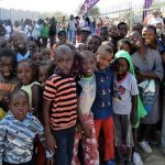 Winter Drive let the children of Maxuilili experience the joy of a good meal