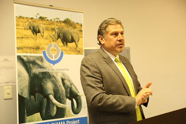 Customs officials training set to cut the flow of illegally trafficked wildlife
