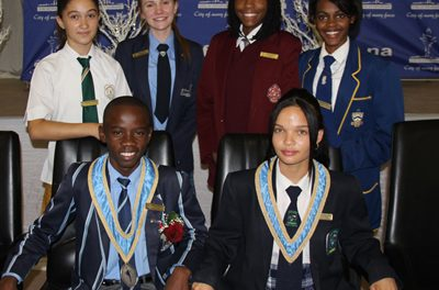 Windhoek Junior Councillors inaugurated
