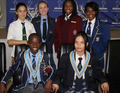 Windhoek Junior Councillors inaugurated