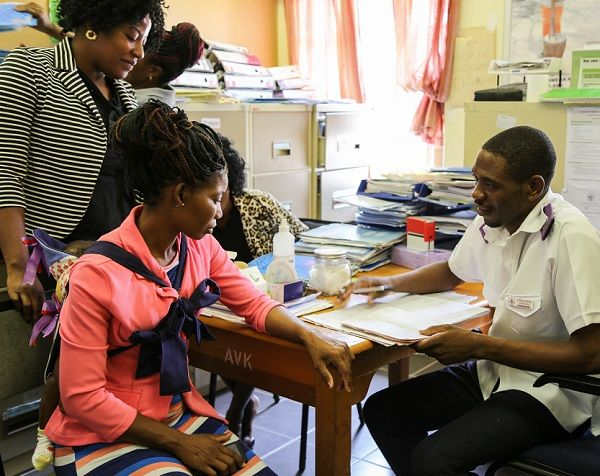Nyangana District Hospital tracks HIV status of mothers and babies for follow-ups