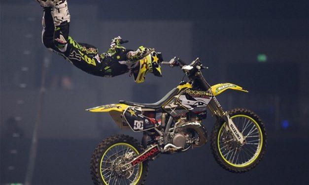 Flying biker main drawcard at Biltongfees and Auto Show
