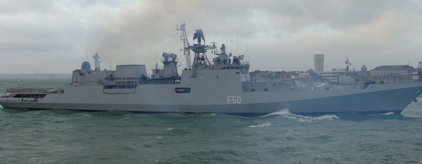 Heavily armed Indian warship to dock in Walvis Bay