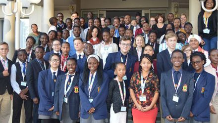 Model United Nations Namibia mock games set