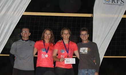 Exhilarating games at RFS beach volleyball tournament
