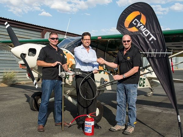 Manual fuel pump keeps anti-poaching aircraft in the air when operating from desolate strips