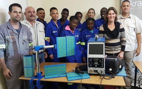 More apprentices join vocational training at Kraatz Welding School