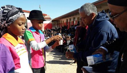 Milk boosts learner sustenance in Mariental
