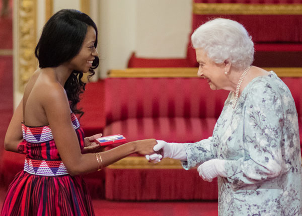 When local talent is honoured by English Royalty