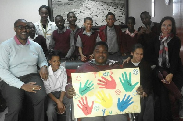 Special contribution for special medical care Dagbreek learners need