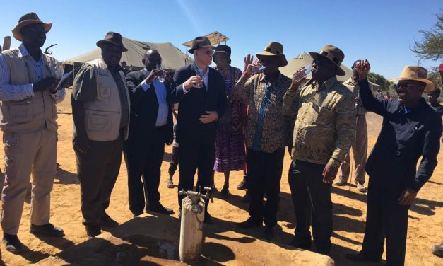 Poverty Ministry hands over two boreholes to Oshikoto community