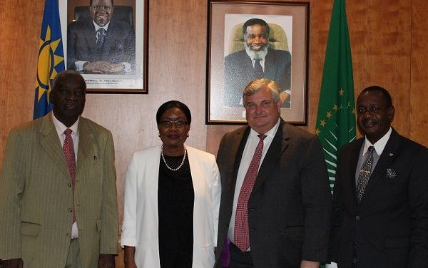 UK trade minister meets government and private sector for smooth transition to new trade agreements between Namibia and the United Kingdom