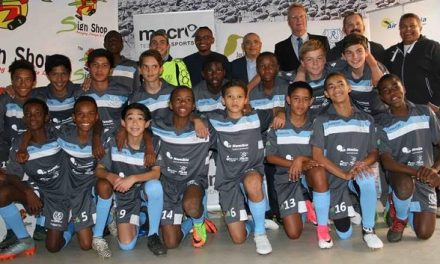 Ramblers U14 soccer team in Gothia for World Youth Cup