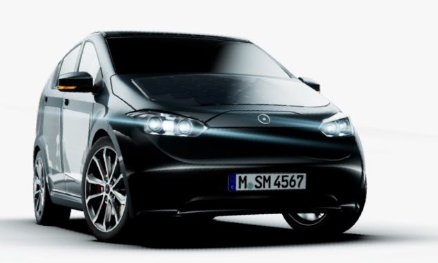 German start-up shows first models of futuristic electric car