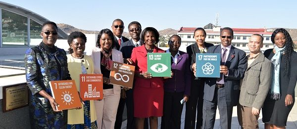 Solar array brings UN electricity bill down by N$60,000 per month