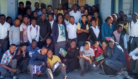 Tsumkwe learners get tips on how to pass Grade 12 exams