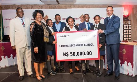 Etosha Secondary School emerge as the brainy ones in national competition