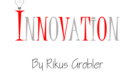 The more problems you have, the more opportunity there is for innovation