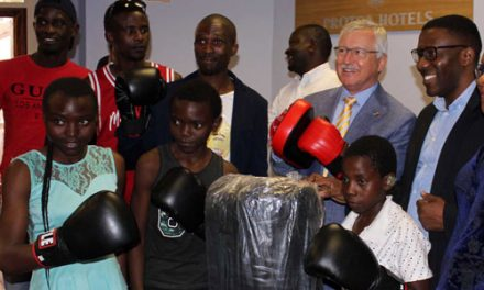 Grassroots boxing set to reach dizzy heights with support from Germany