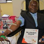 Regular blood donors make up less than one percent of population