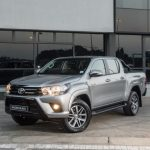 The new special edition Hilux Black in White, Silver and Grey