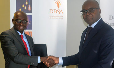 Local development bank inks MoU with Development Bank of Southern Africa