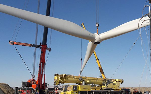 Ombepo Wind Farm nears completion