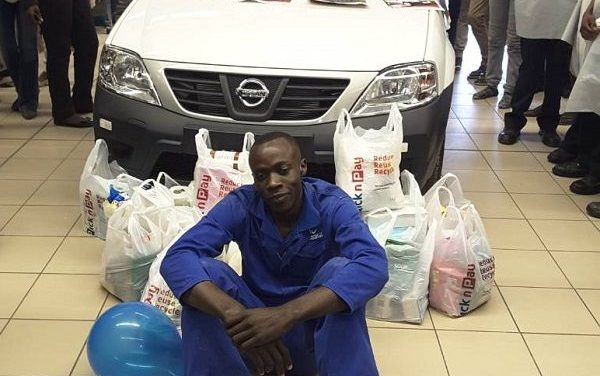 Is this really my car? Ondangwa resident flabbergasted on winning a bakkie