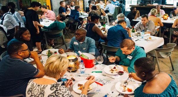 Conversation Cafe connects diverse crowd