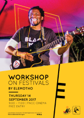Elemotho to hold workshop for potential festival enthusiasts