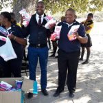 300 disadvantaged school girls get sanitary wear